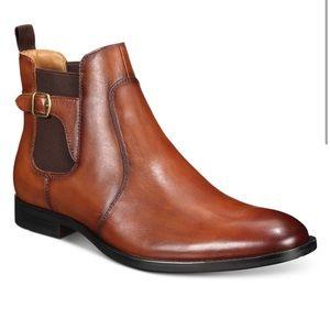 Alfani Men's Ramon Leather Chelsea Boots